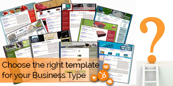 Hubspot website design Templates