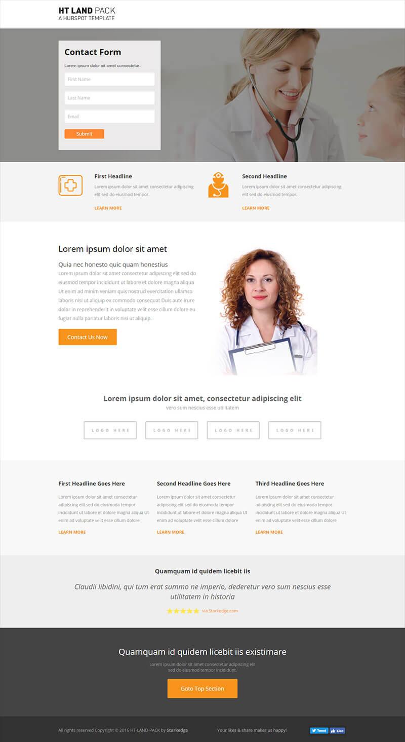 HT-Land-Medical-Landing-Page