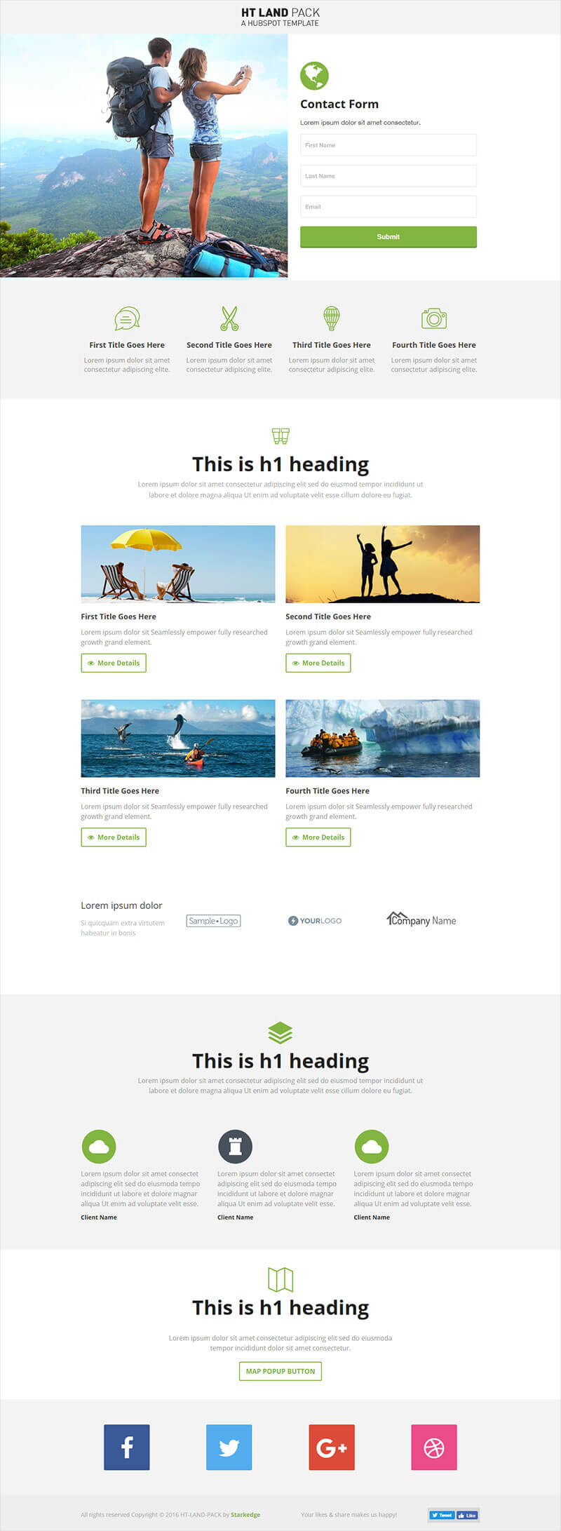HT-Land-Travel-Landing-Page